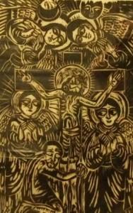 00101K09 Ethiopisch kruis