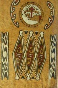 00011K03 FOUW motief met logo GKI West Papua