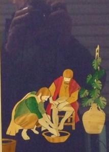 De voetwassing