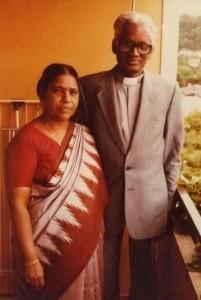 00126K11 Solomon Raj en zijn vrouw