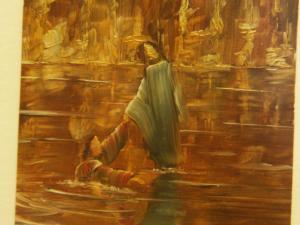00184K16 Rabbi. Meteen greep Jezus Petrus bij de hand