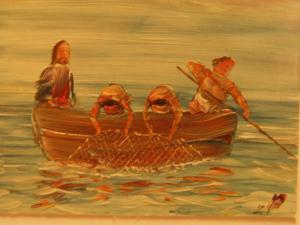 00187K16 Bevrijder. Ik zal jullie vissers van mensen maken.