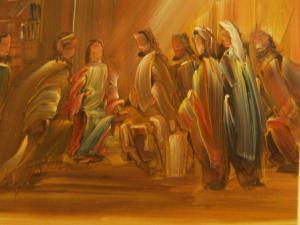 00188K16 Profeet. De Geest van de Heer rust op mij.