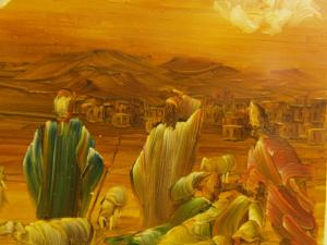 00192K16 Immanuel. God met ons.