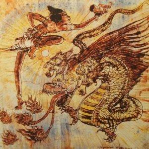 00194K17 Apocalyps: de vrouw en de draak