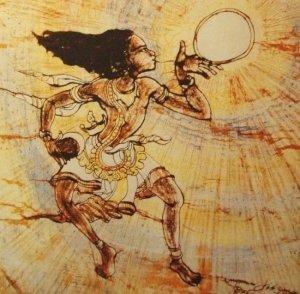 00195K17 De kosmische Jezus: de schepping van zon en maan