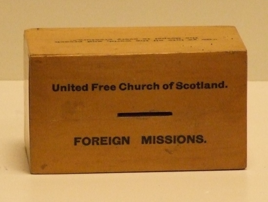 Collection Box United Free Church of Scottland