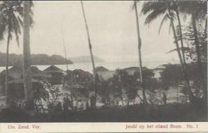 UZV 1-1 jende op eiland roon