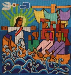 01013 Jezus kalmeert de storm