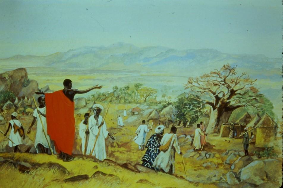 De Zendingserfgoedkalender 2016 wordt gesierd door platen uit de Jezus Mafa serie uit Kameroen.