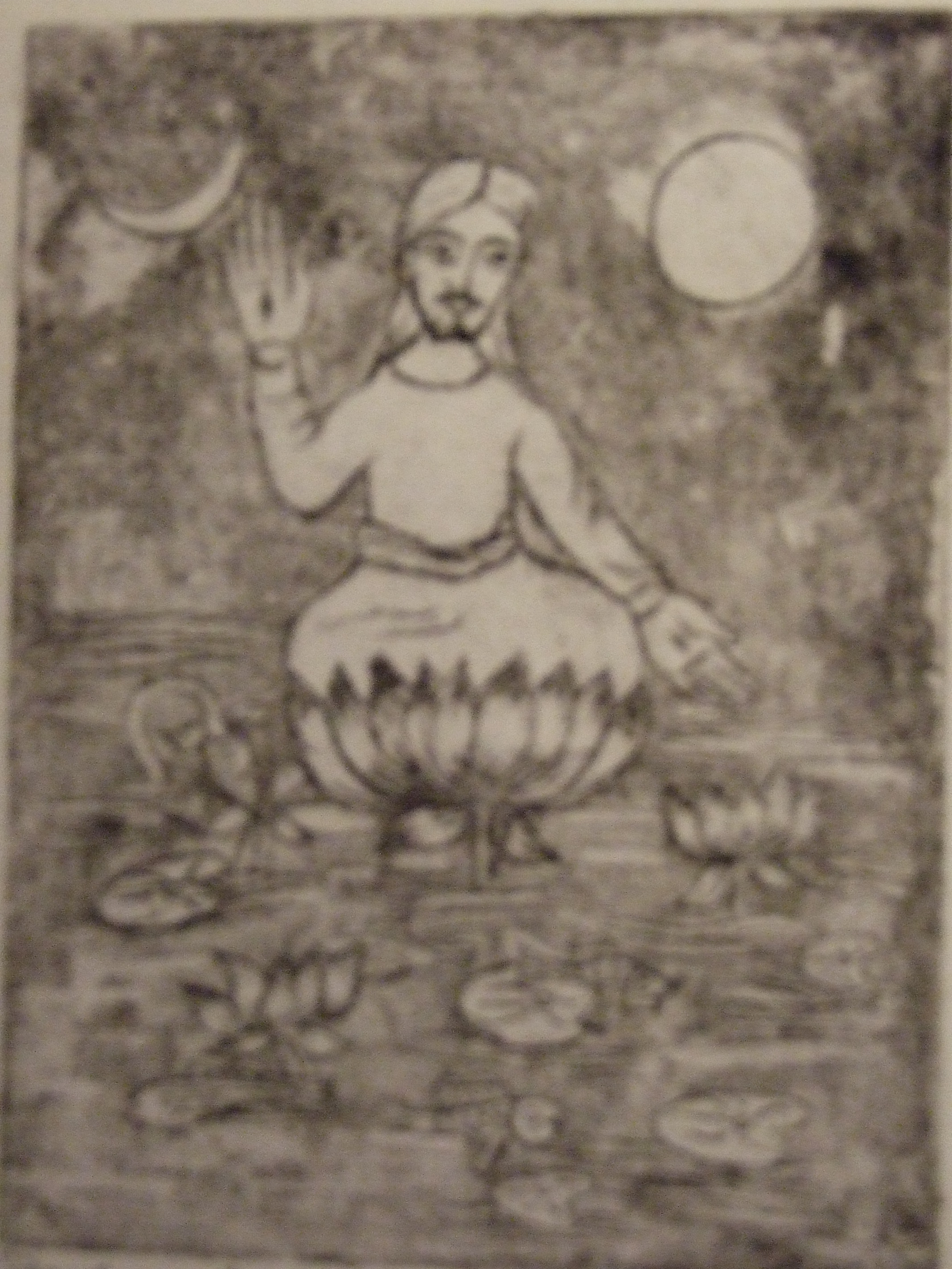 Opgestane Jezus in Lotushouding