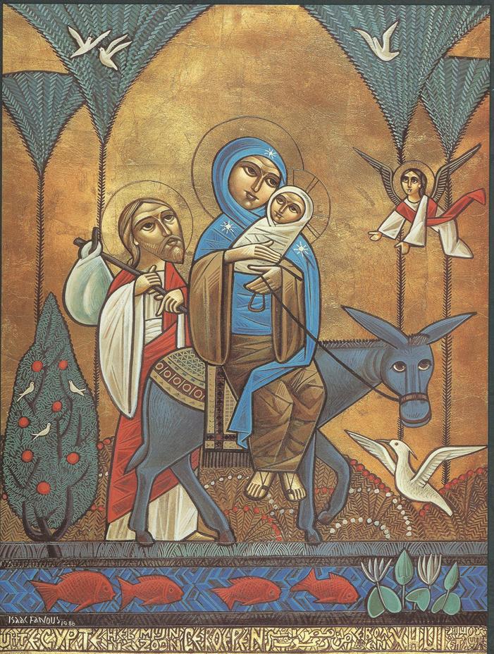 De Zendingserfgoedkalender 2018 wordt gesierd door iconen en miniaturen uit Oriëntaals-Orhdoxe kerken in Nederland.