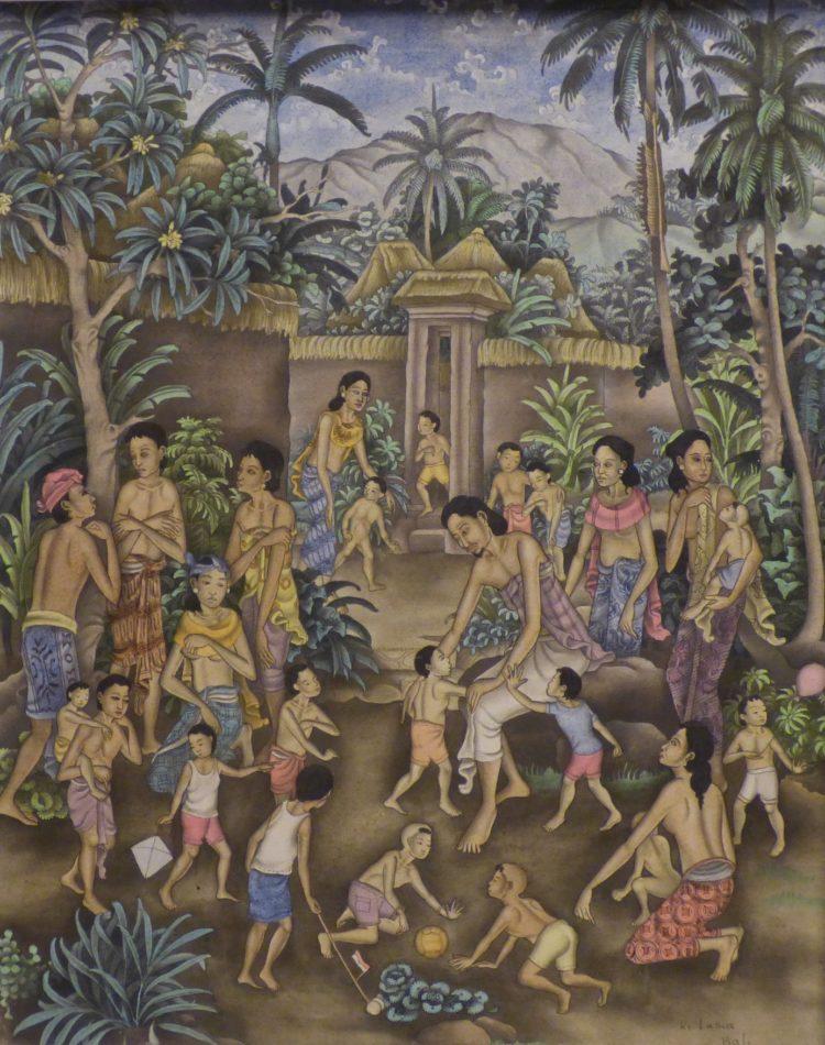 De Zendingserfgoedkalender 2019 wordt gesierd door bijzondere en authentiek traditionele schilderkunst van het Indonesische eiland Bali