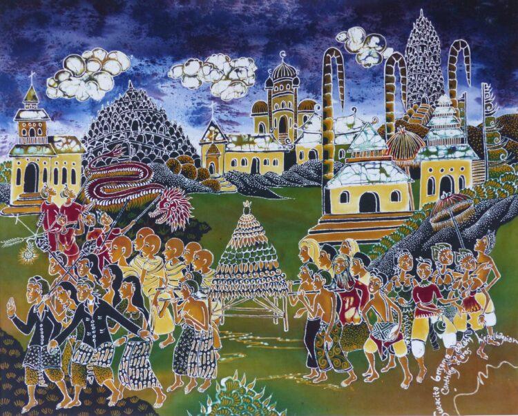 De Zendingserfgoedkalender 2021 toont batiks van ds. Khristian Aris Widodo